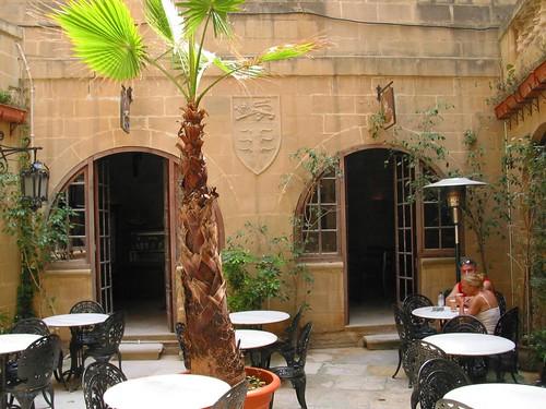 Café in Mdina