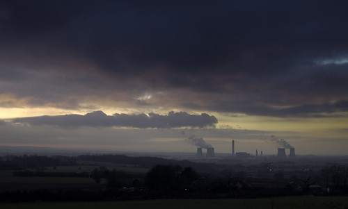 Didcot Power Station at Dusk