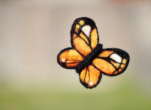 Fluttering Felted