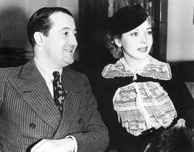 Ida Lupino and her father