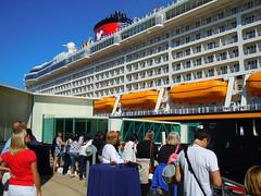Ship - Port Canaveral, Disney Dream