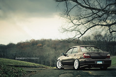 Do it big (Evoked Photography) Tags: low subaru wrx slammed dumped hellaflush