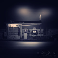 hot spot () Tags: andy lamp girl station night landscape nightscape diesel walk andrea andrew gas stazione notte paesaggio lampione ragazza benzina benedetti gasolio cammina rifornimento d7000