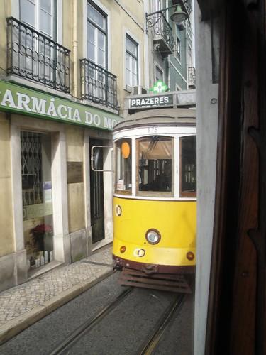 Lisbona, il tram