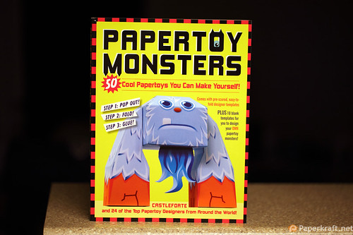 Papertoy Monsters Book 007