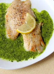 Tilapia with Lemon-Parsley Sauce