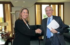 Συνάντηση ΑΝΥΠΕΞ Μ.Ξενογιαννακοπούλου με Πρέσβη Ισπανίας