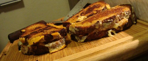 Chanterelle Grilled Cheese