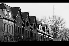 Urban Reflection    189/365 (EspressoTime) Tags: sunset urban reflection art canon photography photo image townhouse maryland photograph potomac 365 rowhouse project365 stonedetail espressotime nathanharrison