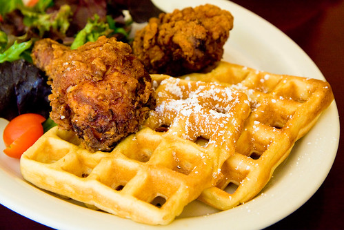 Chicken and waffles, Dajeh