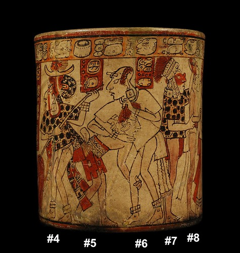 Mayan War Vase – Battle Scene (Side B)