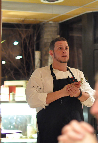 Chef Scott Pampuch at Corner Table ~ Minneapolis, MN