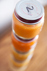Baby Food Jars Stacked Baby Shower Game Macro January 23, 20113