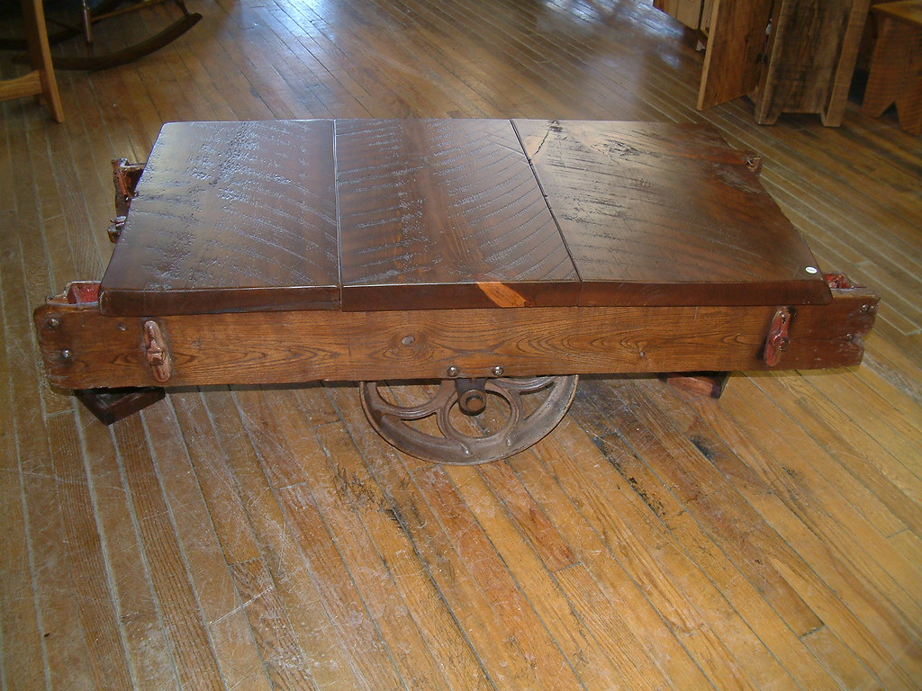 Old Cart Coffee Table