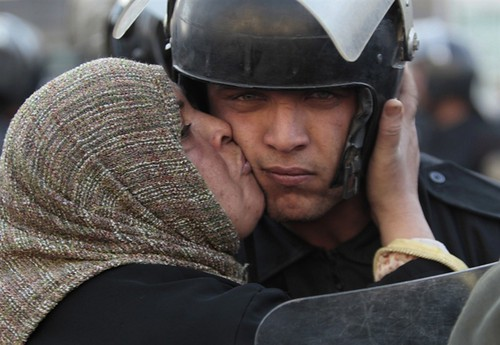 Most Beautiful Subversive Act of Protest in Egypt