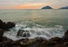 Crepuscle from Petrelle (Rocco V.A.) Tags: longexposure sunset seascape landscape santangelo panorami seawaves isoladischia canonef1740f4lusm canoneos450d baranodischia spiaggiadeimaronti panoramafotográfico seamotion mygearandme