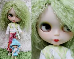 Goodbye pretty green haired girl!