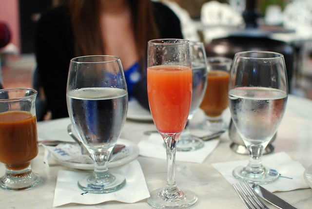 favorite thing about brunch - so many drinks