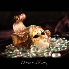 After the party (John-Morgan) Tags: party macro theater mask deception carnivale masquerade harlequin johnmorgan macromonday