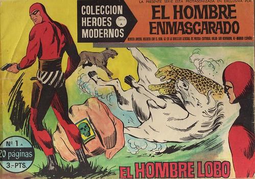 033-El hombre enmascarado-nº1- Coleccion Heroes Modernos