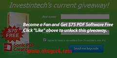 sonic pdf creator facebook like