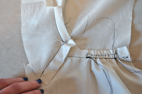 sdsa: sewing the shoulder yoke
