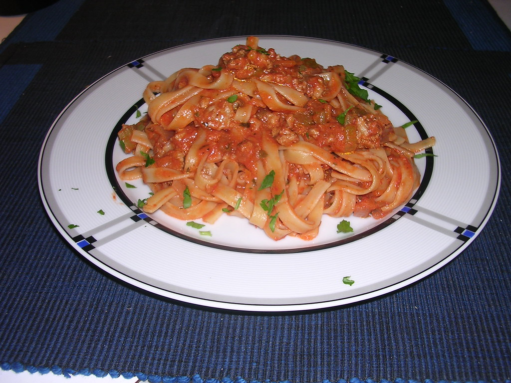 Fettuccini with