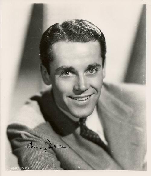 Henry Fonda Autograph