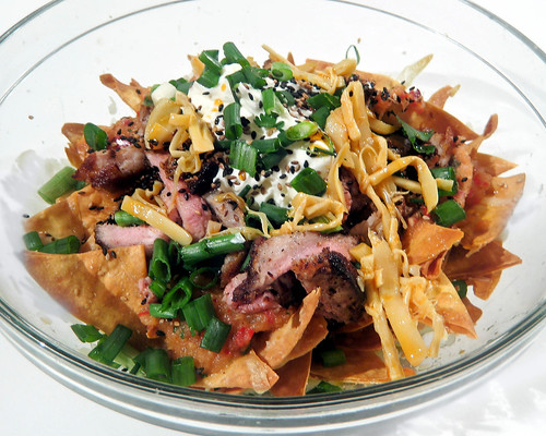 Chinese-Style Pork Belly Nachos