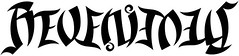 """Revenimus"" Ambigram"