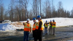 Project Manager Highlights Bridge Work with Se...