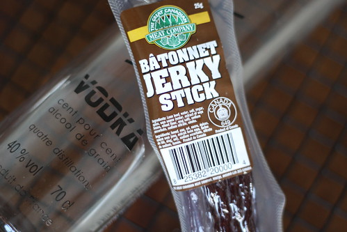Vodka Infused with Beef Jerky.  Fail. Vodka Preserving Recipes February Beef Jerky Beef