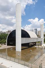 Memorial da Amrica Latina (Plnio Dondon) Tags: arquitetura brasil sopaulo modernismo oscarniemeyer barrafunda memorialdaamricalatina arquiteturamoderna wwwdondoncombr wwwfacebookcompliniodondon