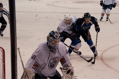 Blues vs. Oilers-7 by Herkie