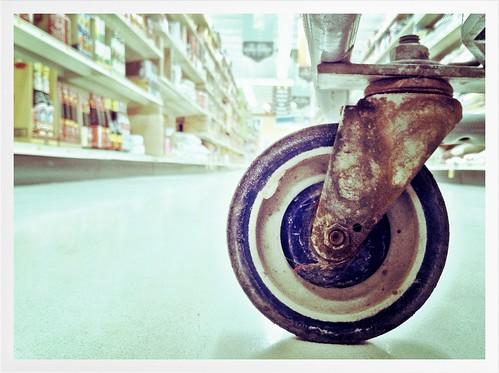 The squeaky wheel (ver. 2) by tjdewey, on Flickr