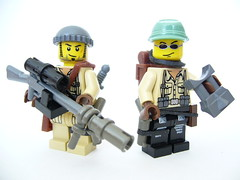 Sniper Team (Colonel Ghostman) Tags: custom legos figures sniper team rifle pistol weapons war conflict colonel ghostman flickr mocpages youtube binoculars shooter spotter backpack knife two man sunglasses satchel modern warfare scouts pure purists military soldiers marines rangers army warriors gullies sharp shooters minifigs minifigures figs combat medal honor 2010 scope silencer