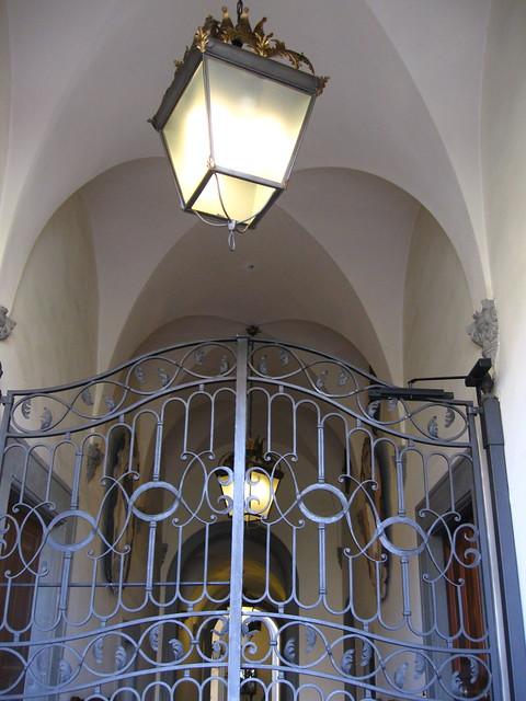 フィレンツェの門のフリー写真素材