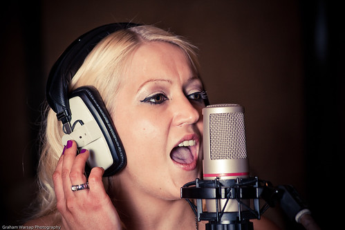 Sharron Nicholle Recording Studio Shoot-3197