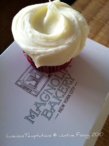 Red Velvet Cupcake with Cream Cheese Frosting - Magnolia Bakery, Bloomingdale's Dubai
