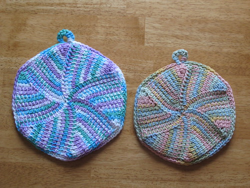 Potholder swap rejects