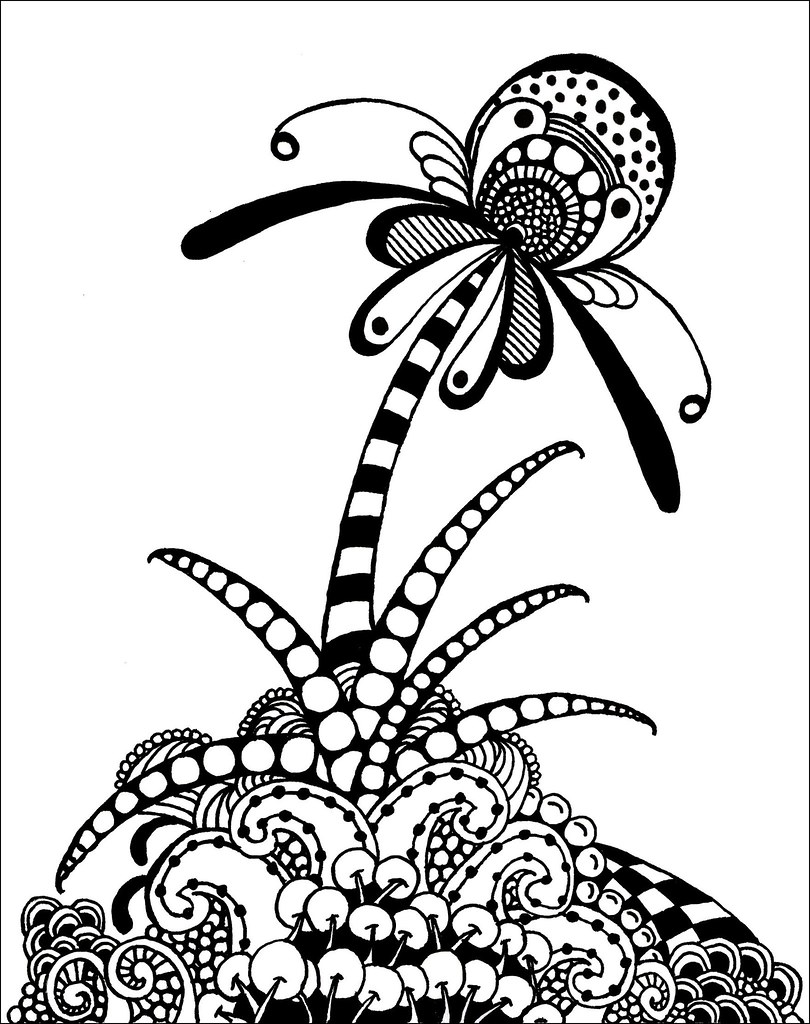 The World's Best Photos of garden and zentangle - Flickr ...