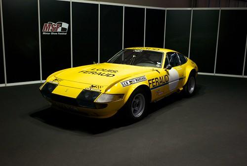 L9771419 Motor Show Festival. Ferrari 365 GTB/4 Daytona. Ecurie Francorchamps (1972)