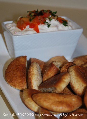 Baked Mini Pita Chips_By Poonam Phatak