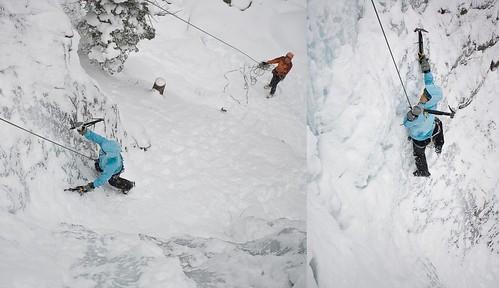 Leigh climbs