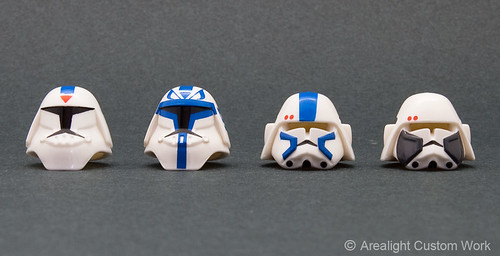 Custom minifig Helmet Bacara & Assault