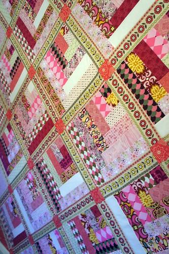 Design Wall - Pink Quilt