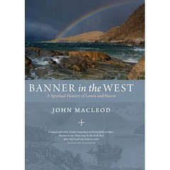 banner in the west (stutefc) Tags: scotland lewis books harris 2010 theislands johnmacleod bannerinthewest