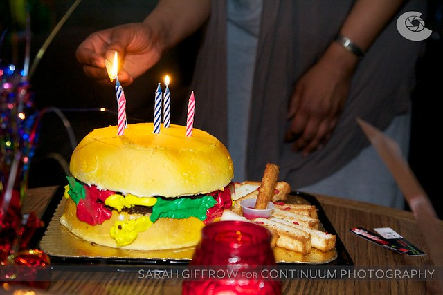 Hamburger cake!