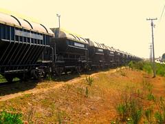 El Tren Interminable... (Trochametrica, Recorriendo El Norte de Chile) Tags: chile train tren gm cap laserena emd romeral gr12 ferronor islón