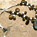 Tiger Eye Lucky Clovers necklace